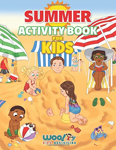 Summer Activity Book For Kids Reproducible Games Worksheets And