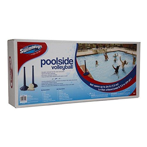 51CY 6FsUnL - SwimWays Poolside Volleyball