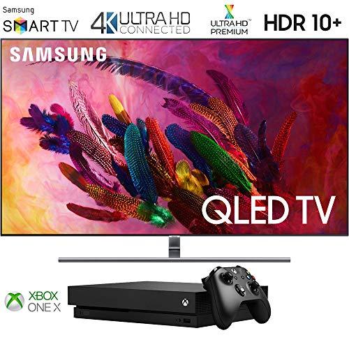 Samsung Q7 Smart 4K Ultra HD QLED TV (2018) Xbox One X (Super Bundle)