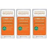 Green Goo Deodorant, Oval, Apricot Gel 3 Piece, 0.6 Pound
