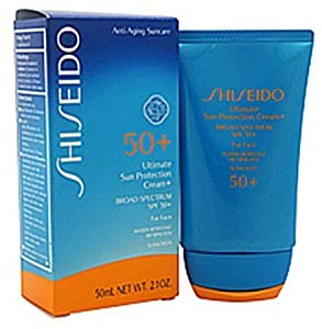 Shiseido Ultimate Sun Protection Cream SPF 50+ for Face