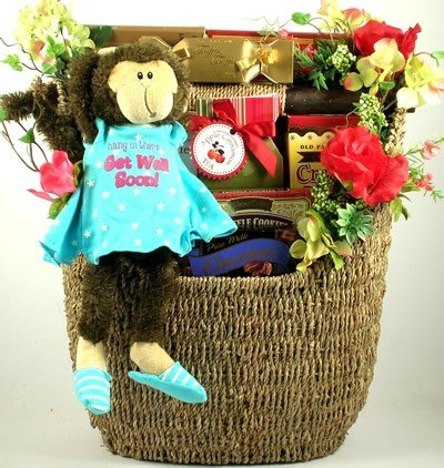 Gift Basket Village Hang in There Get Well Basket