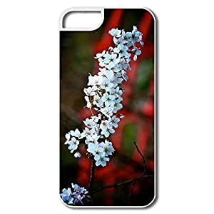 IPhone 5/5S Covers, Blossoms Over Bridge White Cover For IPhone 5
