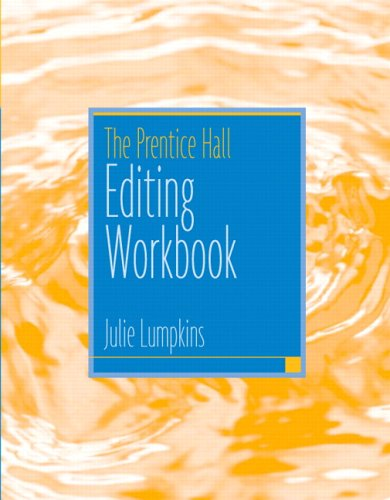 The Prentice Hall Editing Workbook