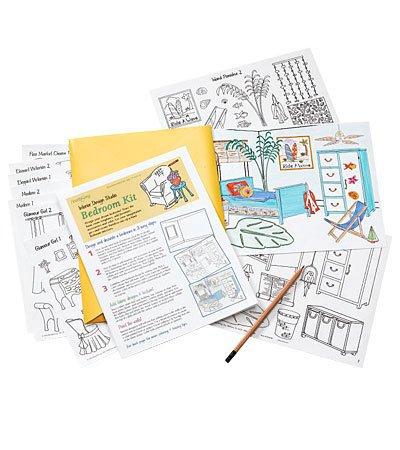 Amazon com: Bedroom Interior Design Studio Add-On Kit: Toys