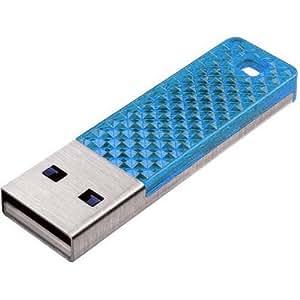 Sandisk 16GB Cruzer Facet - Memoria USB (16 GB, USB 2.0, 128-bit AES, Sin tapa, Azul, 0 - 45 °C)