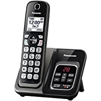 Cordless Telephones Landline, Black Panasonic Office Home Landline Telephone