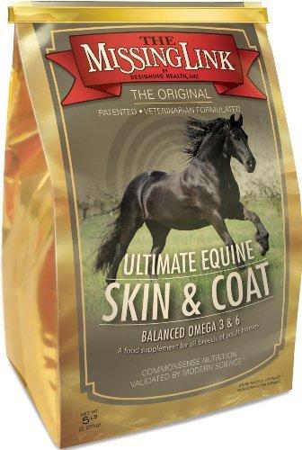 The Missing Link Ultimate Equine Skin & Coat Formula for Horses - 5 Pound