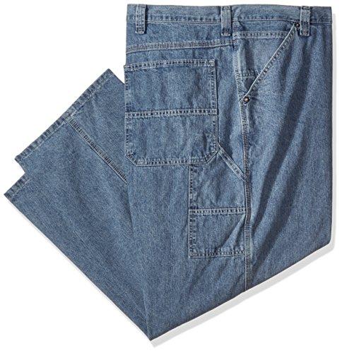 (Lee Men's Big and Tall Carpenter Jean, Retro Stone, 44W x 30L)