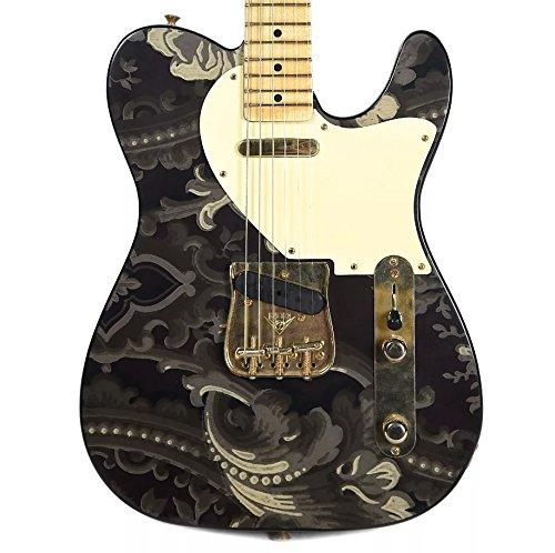 Fender Custom Shop Retro Decor Telecaster 1930s Eduardian Motif Wallpaper Top MN Masterbuilt by Yuriy Shishkov