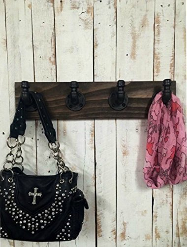 Coat rack, industrial wooden hook rack, racking system,