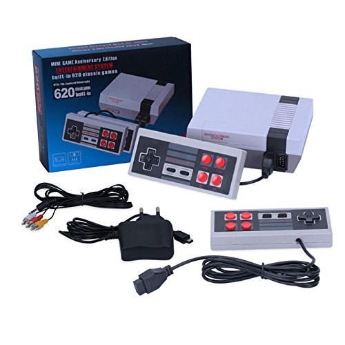 Classic Retro Family Game Console - with 600 games ,Consoles Video Games, Built in 600 Video Games Consoles, (AV Out Cable), Children Gift, Birthday Gift