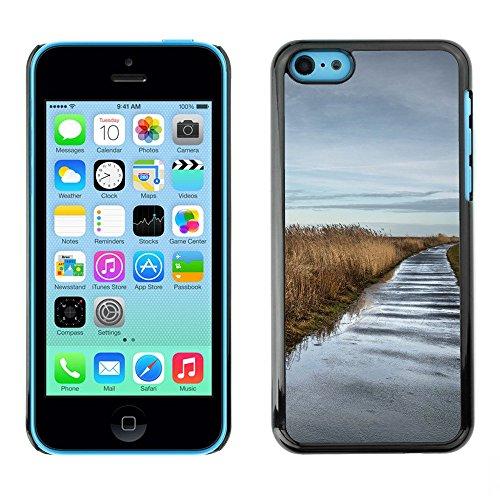 Hülle Case Schutzhülle Cover Premium Case // F00002687 Wasser // Apple iPhone 5C