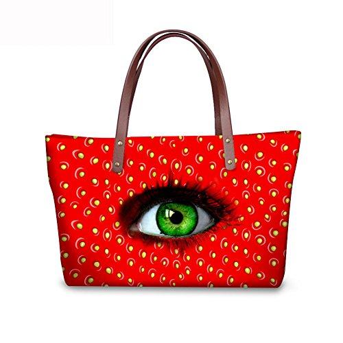 Women FancyPrint Tote Casual Handbags C8wc3936al Bages Vintage qq7HfntO