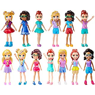 "Polly Pocket Doll With Trendy Outfit 2018 Edition Measures Approx. 3.5"" Tall (1 Doll)"