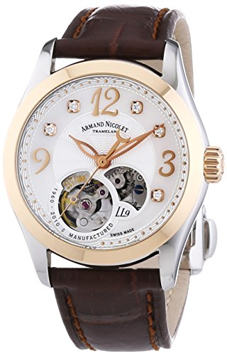 Armand Nicolet Women's 8653A-AN-P953MR8 LL9 Limited Edition Two-Toned Classic Automatic Watch