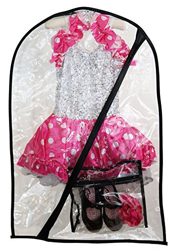 Company Costumes Dance (The Original Dance Costume Bag by Boottique- Children's Garment & Costume Bag (Includes Mini Bag for Accessories & Shoes))