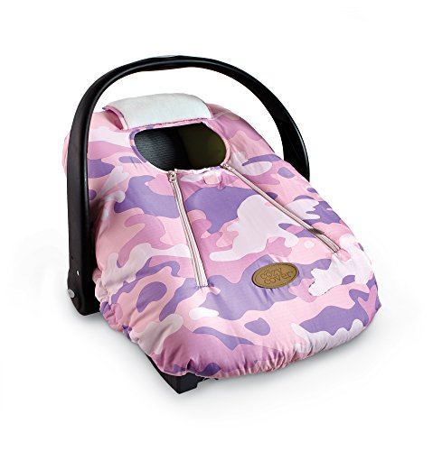 Cozy Cover - Infant Car Seat Cover (Pink Camo)