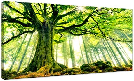 HUADAOART Artwork Landscape Decoration 20x40inch product image