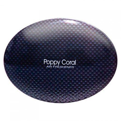 Poppy Coral (Genuine Richbrook Branded Poppy Coral Car Dashboard Air Freshener (Carbon))