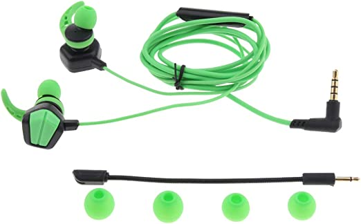 H Hilabee - Auriculares para videojuegos Pubg Mobile PS4 Xbox One ...