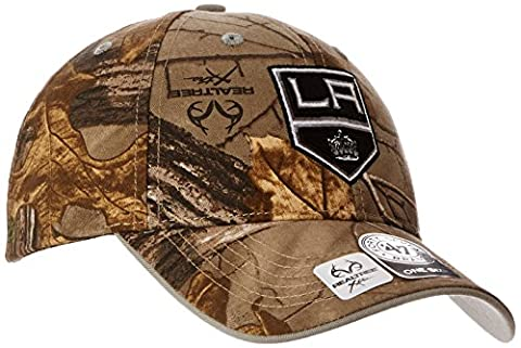 NHL Los Angeles Kings '47 Frost MVP Camo Adjustable Hat, One Size Fits Most, Realtree Camouflage (Los Angeles Kings Hat 47)