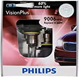 Automotive : Philips 9006 VisionPlus Replacement Bulb, (Pack of 2)