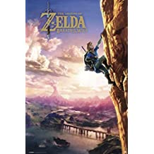 Pyramid America The Legend Zelda Breath The Wild Video Gaming Poster 24x36 inch