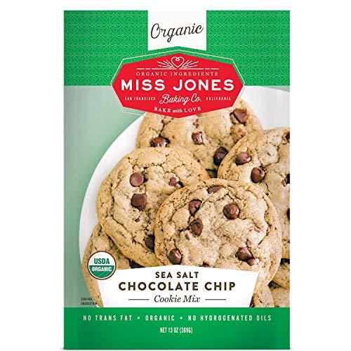 Miss Jones Baking Co Organic Cookie Mix, Sea Salt Chocolate Chip, 1 Count