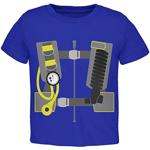Halloween - Scuba Diver Costume Toddler T Shirt Royal 4T for $<!--$16.95-->