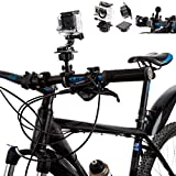 Ultimate Addons Bicycle U-Bolt 1 inch 25mm Ball Mount with Flat Surface Adapter for GoPro HD HERO 3