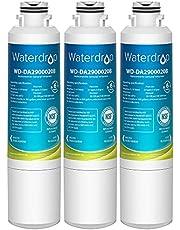 Waterdrop DA29-00020B Refrigerator Water Filter, Compatible with Samsung DA29-00020B, DA29-00020B-1, Haf-Cin/Exp, 46-9101, RF4267HARS, 3 Filters