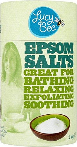 (Lucy Bee Epsom Salts 1 kg Pack of 1)