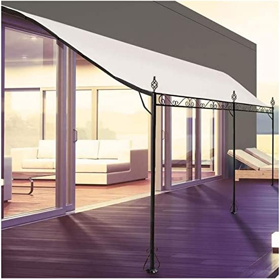 ProBache - Pérgola adosada para terraza (3 x 4 m): Amazon.es ...