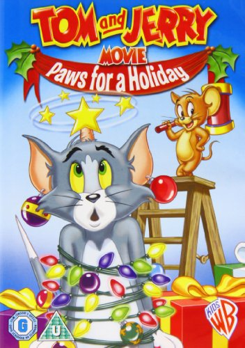 Tom And Jerry's Christmas: Paws For A Holiday (Tom And Jerry Paws For A Holiday)