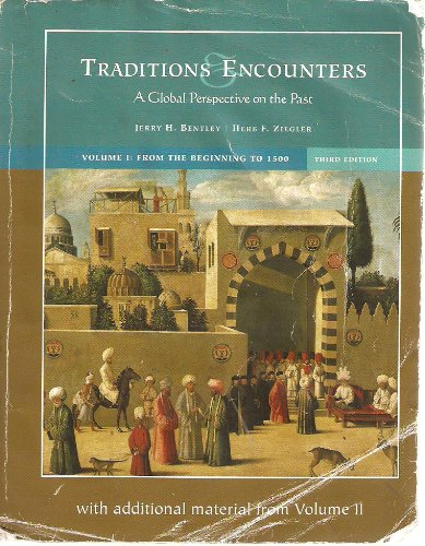 Traditions Encounters a global perspective on the past