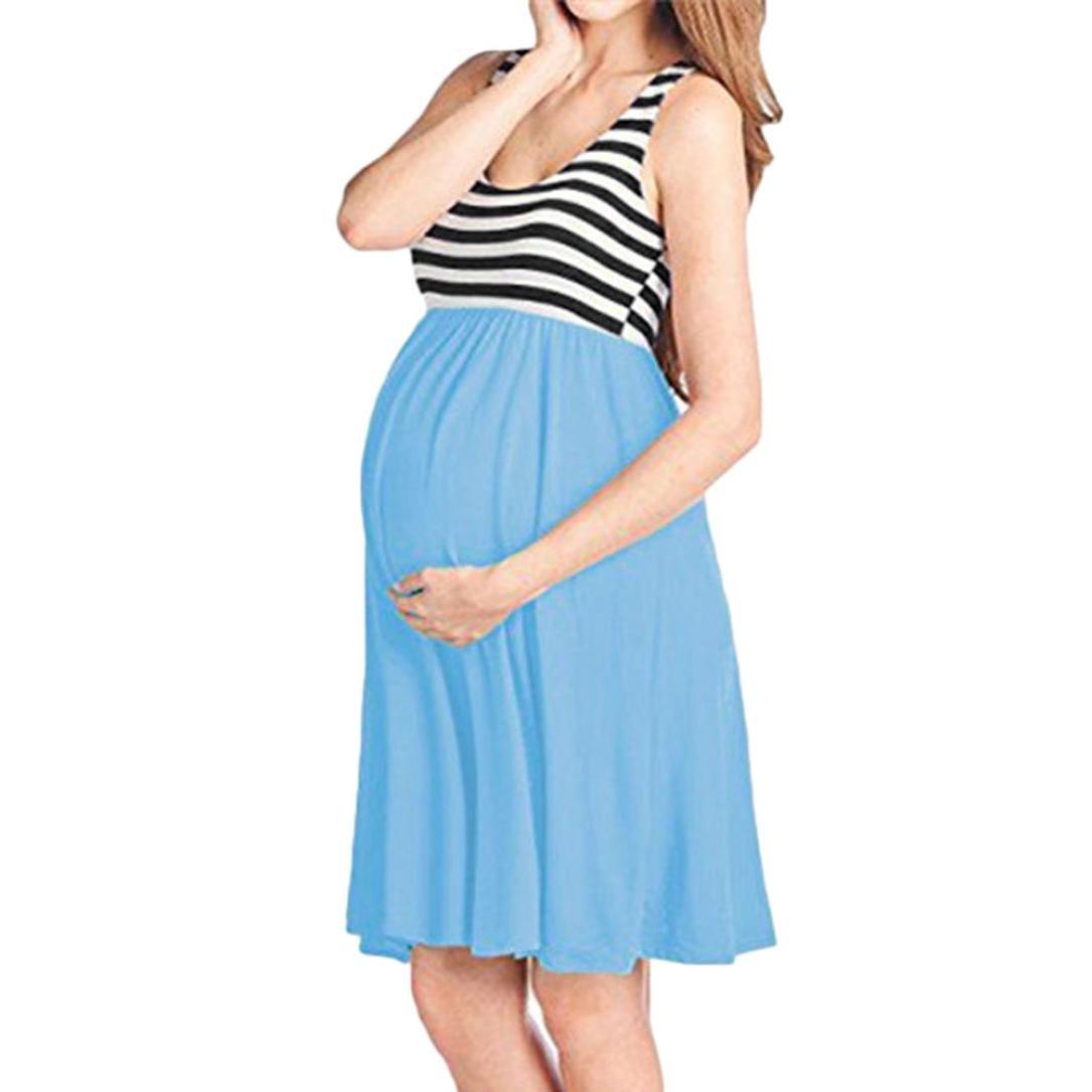 Ankola-Women Dress DRESS レディース B07DN91Q8P X-Large スカイブルー スカイブルー X-Large