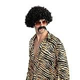 Halloween Afro Wig Disco Hippie Costume Accessories