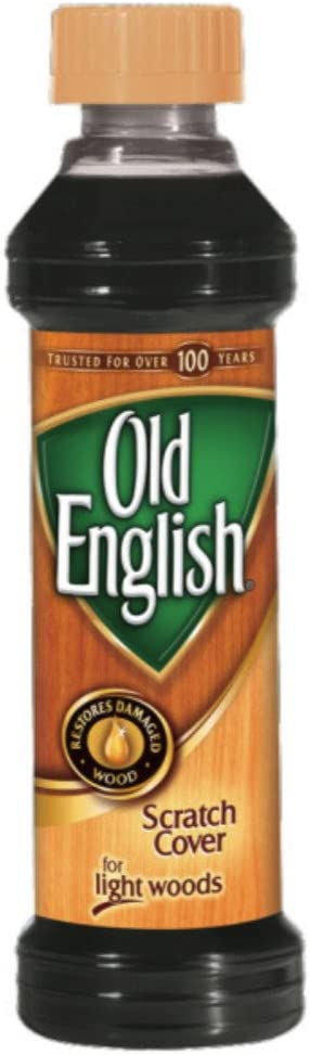 Old English Scratch Cover For Light Woods, 8 fl oz Bottle, Wood Polish (Pack of 2)
