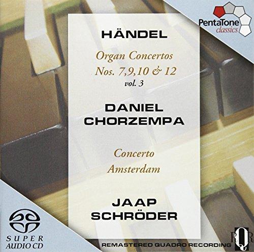 """""""Händel: Organ Concertos, Vol 3 """""""