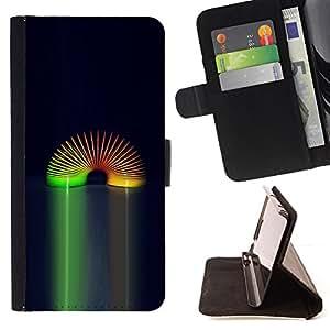 Jordan Colourful Shop - rainbow toy space universe wormhole spring For LG G2 D800 - < Leather Case Absorci????n cubierta de la caja de alto impacto > -
