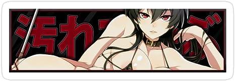 3 Pcs//Pack Deangelo Car Slap Anime Girl Stickers