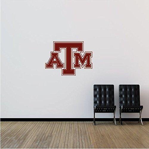 Texas A&M Aggies NCAA USA Logo College Sport Art Wall Decor Sticker by A Top Decals (Image #2)