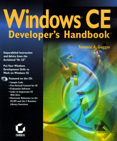 Book cover from Windows Ce Developers Handbook by Terence A. Goggin