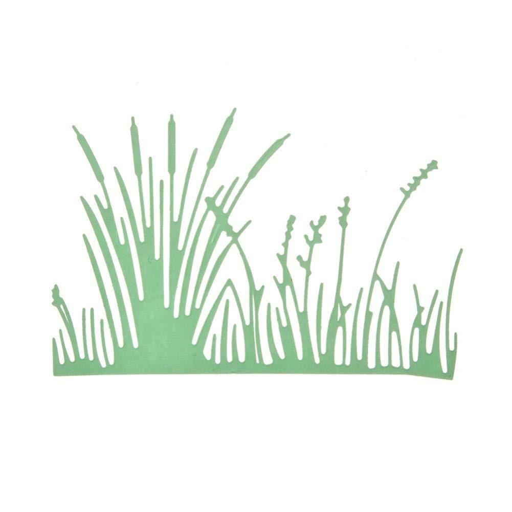 Grasform Stanzschablonen Kohlenstoffstahl Schneiden Schablonen DIY Sammelalbum Set Scrapbooking Papier Karten