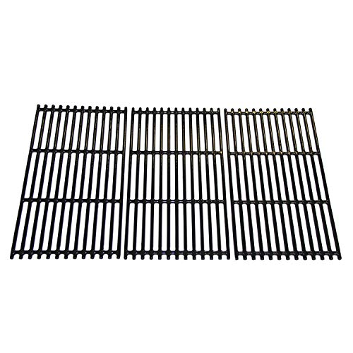 Hongso 17 1/16 inch Porcelain Coated Cast Iron Grill Grates Replacement for Charbroil 463242716, 466242715, 463242715, 466242815 Gas Grill, G533-0009-W1, Lowe