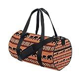 Gym Bag South Africa Elephant Sports Travel Duffel Lightweight Canvas Bag
