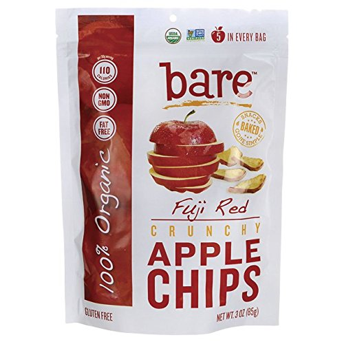 anic Apple Chips, Fuji and Red, 3.3 Ounce ()