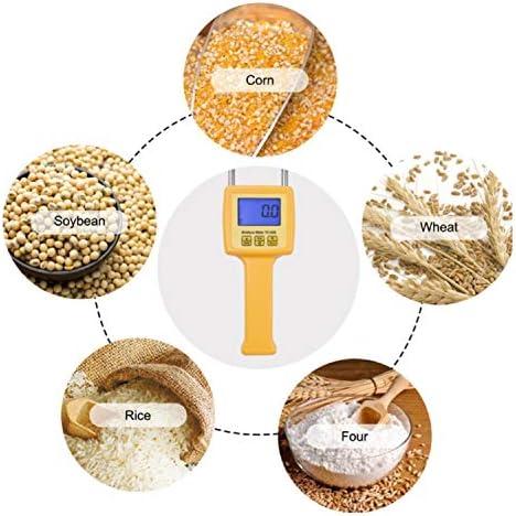 Precise Moisture Meter Digital moisture meter Portable Grain Moisture Meter TK100S use for Corn,Wheat,Rice,Bean,Wheat Flour Durable Resistance tester