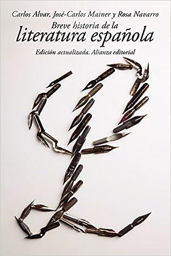 Breve Historia De La Literatura Española El Libro De Bolsillo